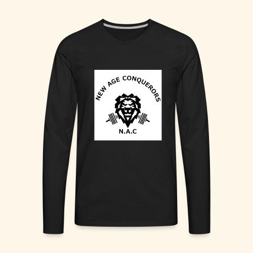 NEW AGE CONQUERORS - Men's Premium Long Sleeve T-Shirt