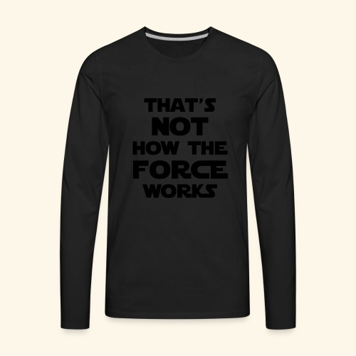 force - Men's Premium Long Sleeve T-Shirt