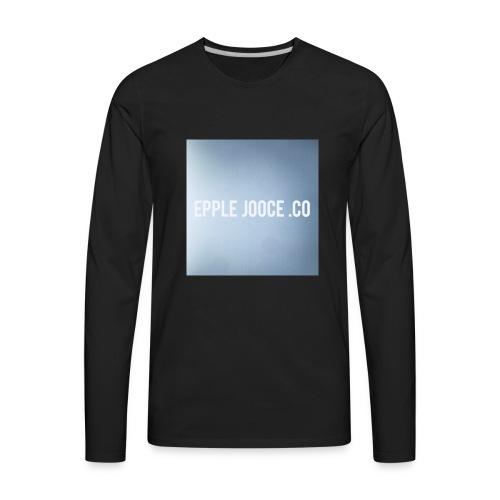 EPPLE JOOCE - Men's Premium Long Sleeve T-Shirt