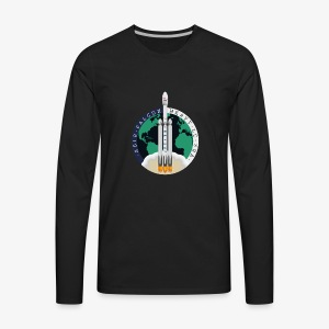 SpaceX Falcon Heavy 2018 - Men's Premium Long Sleeve T-Shirt