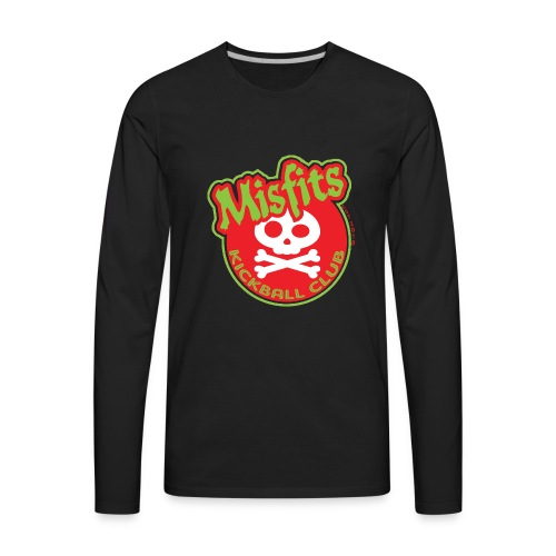 Misfits New Logo - Men's Premium Long Sleeve T-Shirt