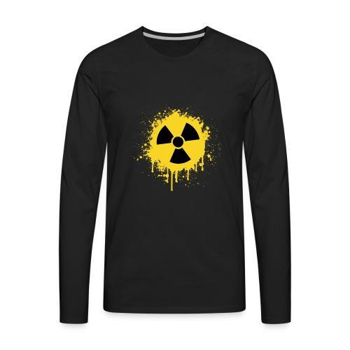 RadioActive Old School - Men's Premium Long Sleeve T-Shirt