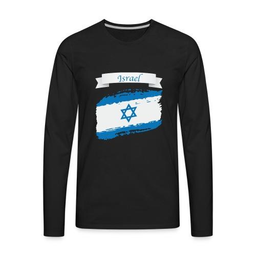 Isreal flag - Men's Premium Long Sleeve T-Shirt