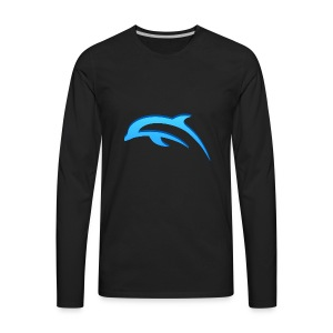 KIBZGAMING MERCHANDISE - Men's Premium Long Sleeve T-Shirt