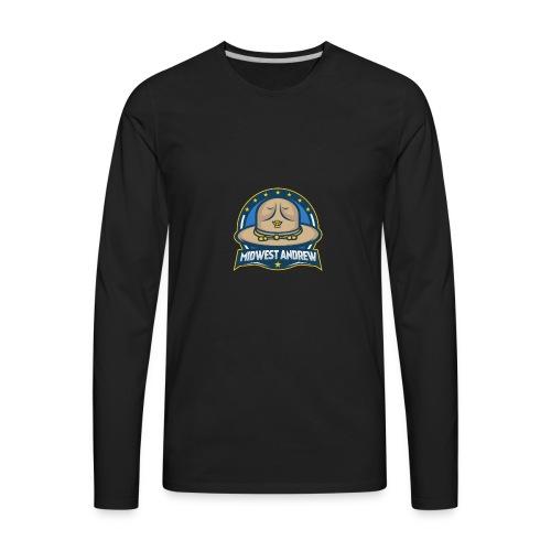 Midwest Andrew Logo - Men's Premium Long Sleeve T-Shirt