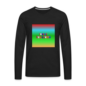 Insane Challenges Merch - Men's Premium Long Sleeve T-Shirt