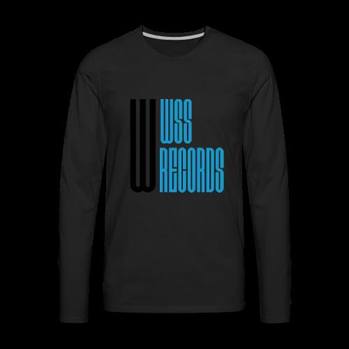 WSS Records - Men's Premium Long Sleeve T-Shirt