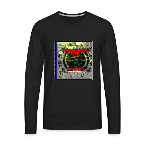 Analog Ninja Gear - Men's Premium Long Sleeve T-Shirt