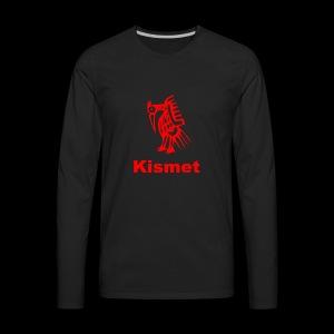 Kismet Thanksgiving design - Men's Premium Long Sleeve T-Shirt