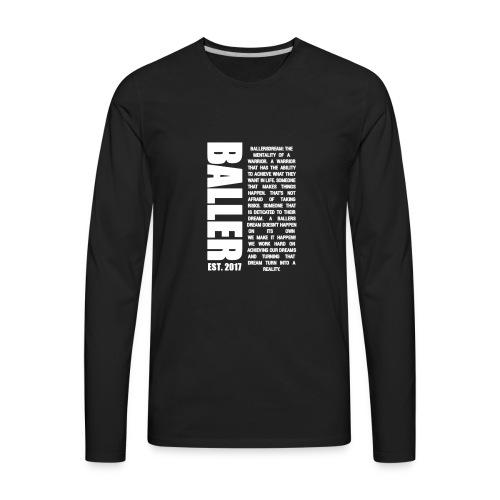 EST.2017 - Men's Premium Long Sleeve T-Shirt