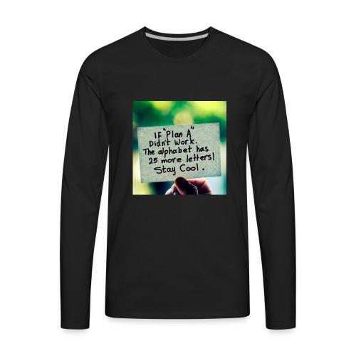 26 plans - Men's Premium Long Sleeve T-Shirt