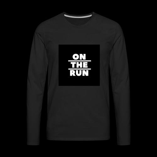On The Run Classic Design - Men's Premium Long Sleeve T-Shirt