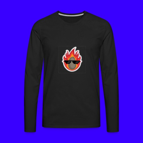 IBlazingPotato - Men's Premium Long Sleeve T-Shirt