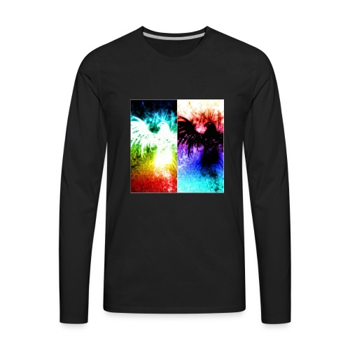 Birds of color - Men's Premium Long Sleeve T-Shirt
