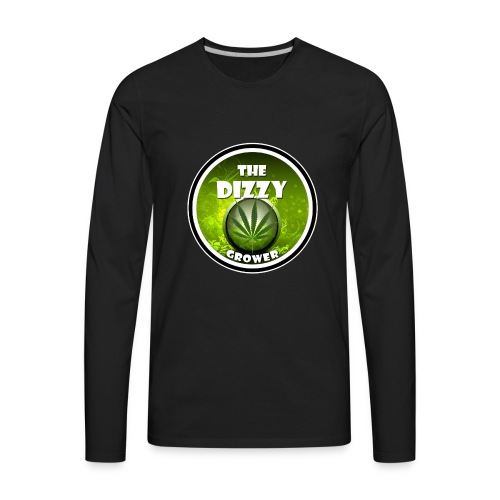 The DG Logo - Men's Premium Long Sleeve T-Shirt