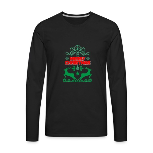 Happy Day Merry Christmas Gift - Men's Premium Long Sleeve T-Shirt