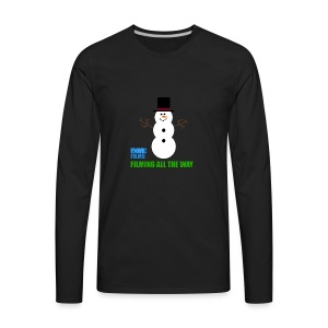 IDOMIC FILMS FILMING ALL THE WAY - Men's Premium Long Sleeve T-Shirt