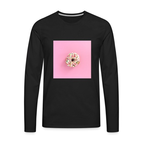 Donuts!!! - Men's Premium Long Sleeve T-Shirt