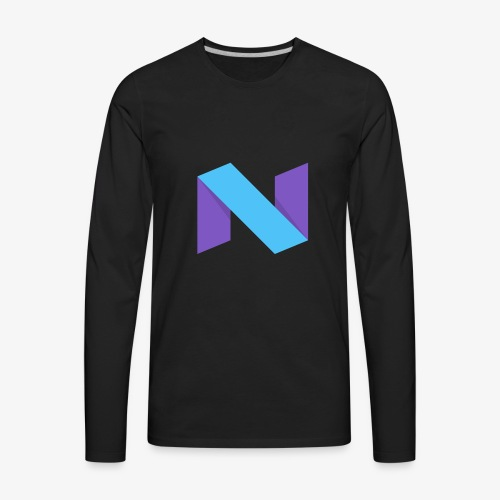 NexxusClan Classic Logo - Men's Premium Long Sleeve T-Shirt