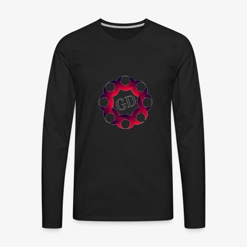 Dubz Large Logo - Men's Premium Long Sleeve T-Shirt