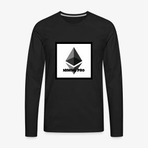 Ethereum Mining Pro - Men's Premium Long Sleeve T-Shirt