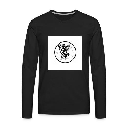 Vibes For Life Brand - Men's Premium Long Sleeve T-Shirt