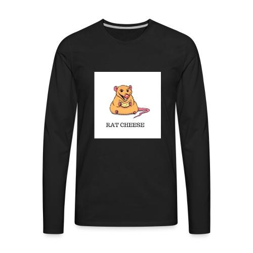 RAT CHEESEEE - Men's Premium Long Sleeve T-Shirt