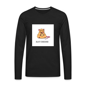 RAT CHEESEEE - Men's Premium Long Sleeve T-Shirt