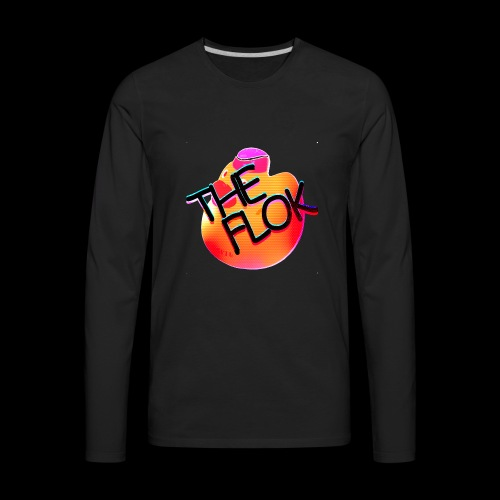 Flok OG Logo - Men's Premium Long Sleeve T-Shirt