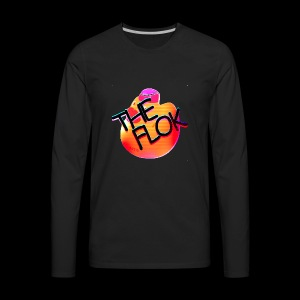 Flok OG Logo - Men's Premium Long Sleeve T-Shirt