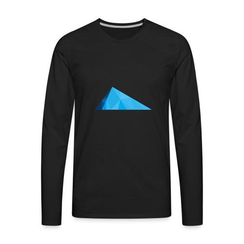 Glacier Ice logo - Men's Premium Long Sleeve T-Shirt