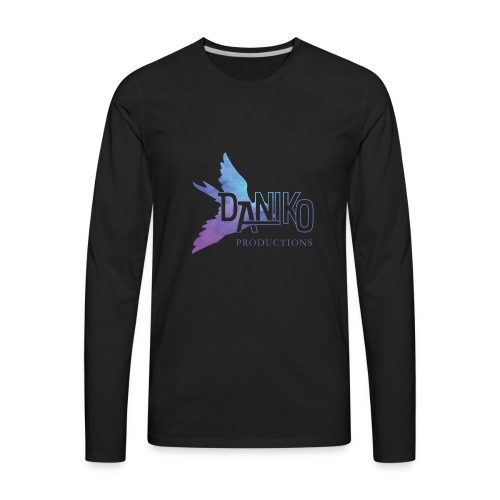 DaNiko Logo - Men's Premium Long Sleeve T-Shirt