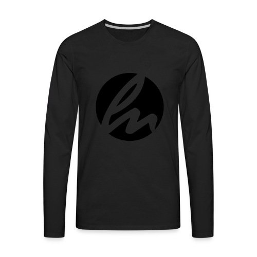 LN LOGO - Men's Premium Long Sleeve T-Shirt