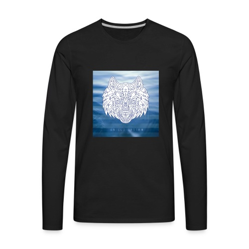 An Old System Album Cover - Men's Premium Long Sleeve T-Shirt