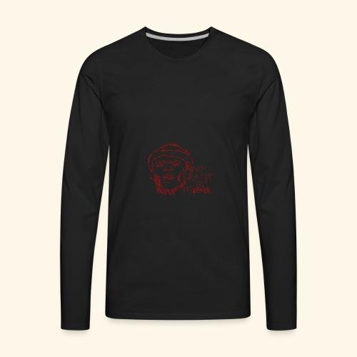 lud foe mopstick 1red - Men's Premium Long Sleeve T-Shirt