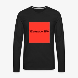 clkelly64 box logo - Men's Premium Long Sleeve T-Shirt