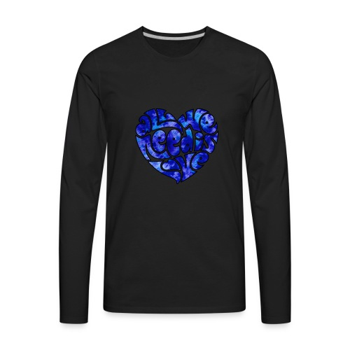 Hippie's Heart - Men's Premium Long Sleeve T-Shirt