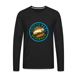 Crypto Vail T Shirt 1 - Men's Premium Long Sleeve T-Shirt