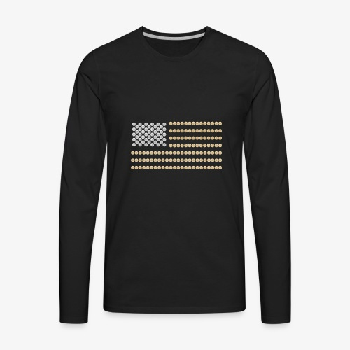 OLD GLORY WINCHESTER - Men's Premium Long Sleeve T-Shirt
