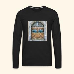 Shut the Front Door Let's Pray ! - Men's Premium Long Sleeve T-Shirt