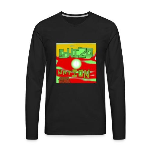 schizo - Men's Premium Long Sleeve T-Shirt