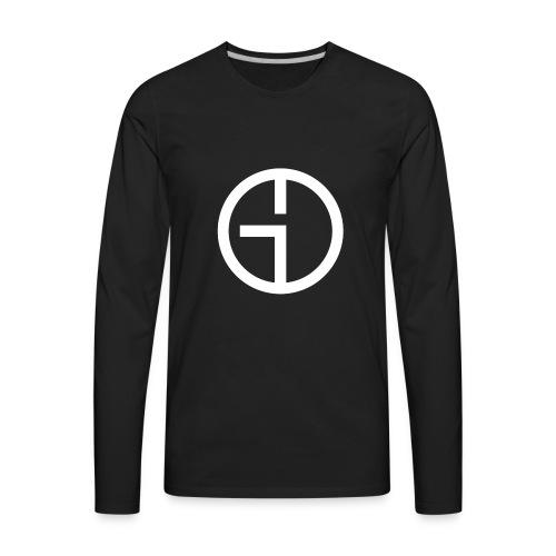 GO Logo - Men's Premium Long Sleeve T-Shirt