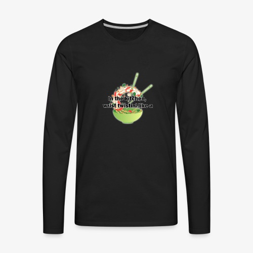 Migos Stir Fry - Men's Premium Long Sleeve T-Shirt