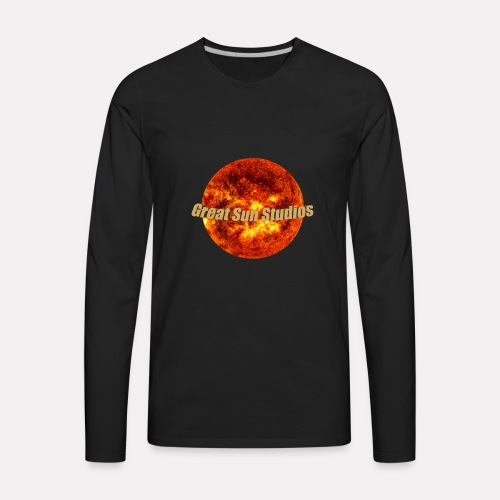 GreatSunStudios Logo - Men's Premium Long Sleeve T-Shirt