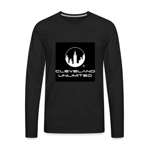 OFFICIAL CLEVELAND UNLIMITED LOGO - Men's Premium Long Sleeve T-Shirt