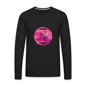 Keep it 100 - Men's Premium Long Sleeve T-Shirt