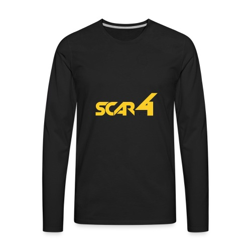 scar4life aparrel/accesories - Men's Premium Long Sleeve T-Shirt