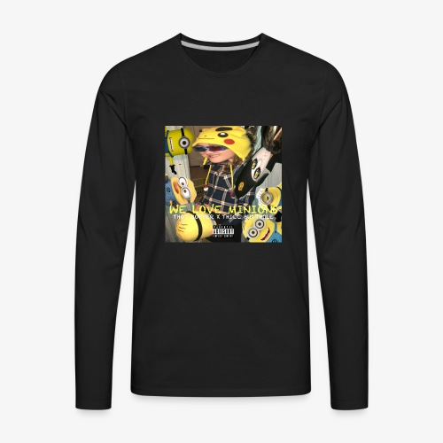 WE LOVE MINIONS - Men's Premium Long Sleeve T-Shirt