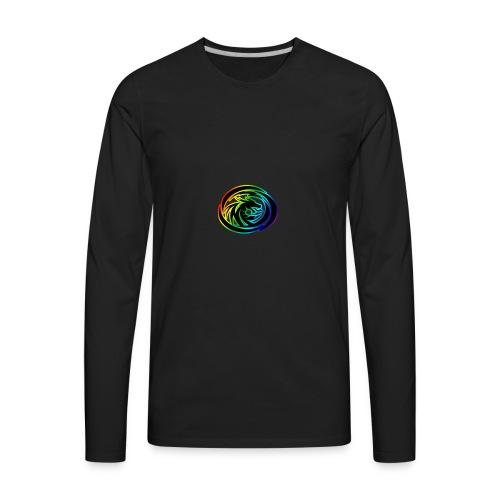 DRAGON EMBLEM PNG - Men's Premium Long Sleeve T-Shirt