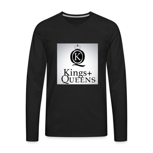 Love and happiness - Men's Premium Long Sleeve T-Shirt
